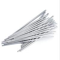 çin yemek takımı toptan satış-Sofra Paslanmaz çelik çubuklarını Çin Çubuklarını Mutfak Restoran Çubuklarını