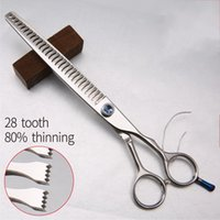 Professionale JP440c 8 pollici High-end Pet dog Grooming Scissors assottigliamento cesoie Thinning rate circa 80%