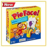 Wholesale Children Toys Korea - Korea Running Man Pie Face Game Cream Hit Face Home Parent-and-Child Games Novelty Fun Anti Stress Prank Funny Rocket Toys