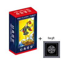 Wholesale Making Cards Games - Wholesale- 2016 Full English radiant rider wait tarot cards factory made high quality tarot card with colorful box, cards game, board game