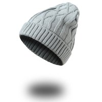 fbf600a9ca1 Acrylic Winter Classic Knitting Pattern Sport Skull Hat Man Woman Beanies  Rib Cable Knitted Beanies For Adults Mens Womens Yarn Thick Caps
