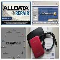 Wholesale Auto Usb Vw - Latest Auto repair software fit win7  win8   win xp 49in1 1tb new 3.0 usb hdd alldata 10.53+mitchell on demand