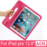 """Wholesale Ipad Tablet For Kids - New Arrival Children Kids Shockproof Safe Thick Foam EVA Cover Case Non-Toxic Stand Handle For Apple iPad Pro 12.9"""" Tablet PC"""
