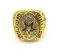 Wholesale Custom 18k Gold Ring - Fashion 1992 dallas cowboys Championship Rings, Accept Custom Ring