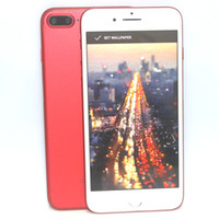"""Wholesale Cell Android Hd - Goophone i7 Plus Android 6.0 Smartphone Quad Core MTK6580 1.3GHz 1GB RAM 4GB ROM 960*540 5.5"""" HD 8MP 3G WCDMA Unlocked Cell Phones"""
