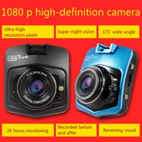 Wholesale Automobile Records - car dvr authentic 1080 p high-definition automobile vehicle traveling data recorder double lens Night vision wide-angle mini car all-in-one