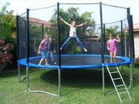 Wholesale 10ft Sport Trampoline Adult Fitness Equipments Exercise Trampoline for Older Kids and Outdoor Fun Designed for Home Outdoor Use Only