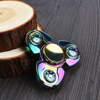 EDC Russo CKF Fidget Spinner Handspinner Mano Spinner Finger Decompressione Ansia Metallo Cuscinetto a sfere in acciaio Metal Zinc Lega Gag Toys