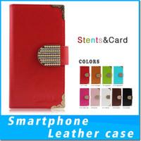 Wholesale fierce cases for sale – best For Alcatel A30 Fierce Metropcs ZTE Blade Z max Pro Z982 Metropcs Luxury PU Flip Wallet Phone Case Cover Protective Wallet