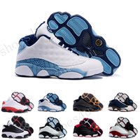 Wholesale Neoprene Back - (With Box) Cheap Men's Basketball Shoes Air retor 13 XIII Low Hornets back retro 13 Basketball Boots Men Athletics Sneakers Sports Shoes