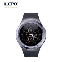 Wholesale Dial Online - Y1 smartwatch wrist phone Anti-lost find phone support calling alarm SNS whatsapp skype facebook function and TF card online shopping