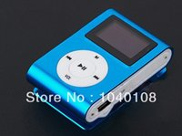 Wholesale Wholesalers Only For Watches - Wholesale- Wholesale High Quality Clip ONLY MP3 with screen, TF SD Card Slot for Running, Sports, Leisure