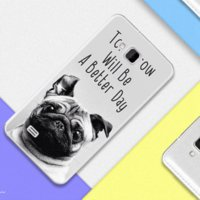 Wholesale Iphone Tiger Metal - Coque For ZTE AF3 Case Soft Plastic Cover Marble Stone Tiger Animal Silicone TPU Case For ZTE AF3 DIY Pattern Mobile Phone Cases