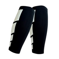 Wholesale C Leggings - Wholesale- DSGS A pair of basketball to protect the calf outdoor sports protective gear leggings sets of football running knee leg sets c