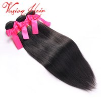 O cabelo humano mais barato Kinky Straight Weave Bundles 3Pcs / Lot Beautiful Virgin Extensões de cabelo Mix Length Virgin Indian Hair Wholesale Bundles