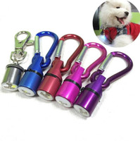 Wholesale dog bark collars resale online - Aluminum Waterproof Safety Collar Tag Pendant Cool Flashing LED Collar Tag for Dog Cat Pet