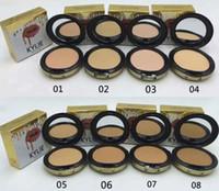 Wholesale Green Press - kylie jenner face power Kylie face powder profession makeup Studio Fix Powder Plus Foundation press make up face powder 8 colors