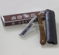 Gold Monkey 777 Carbon Steel Barber Rasieren Gerade Rasiermesser Single Blade Grooming Tool