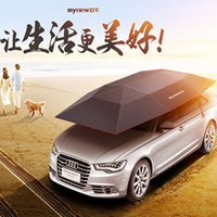 Wholesale 2017 New Arrival Auto Car Cover Exterior Accessories bumper Semi automatic Car Covers Remote control Automobile Car Sunshade Cat Tent