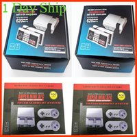 Wholesale Video Player Pc - TV Handheld Game Console Mini Portable Video Game Player Console For NES Windows PC Mac with 620 Built-in Games