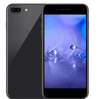 Wholesale Video Player Network - 5.5inch Goophone i8 plus MT6737 real 4G network 1G 16G real Fingerprint 8MP+200MP Camera GPS show fake 256G8 unlocked phones