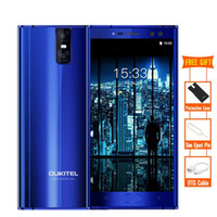 Wholesale Mp3 Player Windows Mobile - OUKITEL K3 4 Cameras 4G Smartphone 6000mAh MTK6750T Octa Core Android 7.0 4GB+64GB 16.0MP+2.0MP 5.5 inch Mobile Cellphone
