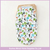 Wholesale Sherpa Baby - Cute Animal Character Style 100% Polyester Supersoft Sherpa Baby Swaddle ,Fleece Baby Swaddles ,Two Layers Knitted Material