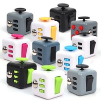 Wholesale Toy Plush Cube - Fidget Cube Fidget Spinner Finger Cube 6 Sides The World's First American Decompression Anxiety Toys Plush Toy Beyblade Fidget Toy.
