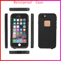 Wholesale Neoprene Shock - New Coming 100% Waterproof Phone Case Shock proof defender cases cover for Iphone 6S iphone 6s plus with Retail Box