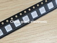 Wholesale Car Led Diode - Wholesale- 100 pcs 5050 RGB SMD LED RED BLUE GREEN SMT LED PLCC-6 3-CHIPS Light Emitting Diodes Lamp Bead For Car, Boat, Bike DIY
