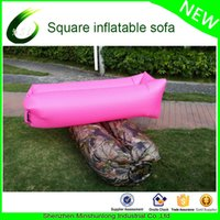 Wholesale Hot sale outdoor air bed air mattress inflatable lounger hangout lay back bag cheap pouch couch