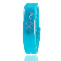 ingrosso gli orologi da polso di trasporto libero-Orologi digitali del braccialetto del touch screen LED per l'orologio di sport delle donne dell'orologio del bambino delle signore degli uomini Saat Trasporto libero