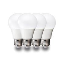 kapalı bilye lambası toptan satış-Süper parlak E27 LED lamba 3 W 5 W 7 W 9 W 12 V 15 V 360 açı SMD LED Ampul Top dik ışık İç aydınlatma LED Ampuller