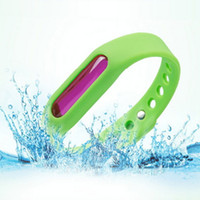Barato Anéis Repelentes De Insectos-Braille anti mosquito repelente Braçadeira de mão Pest Insect Bugs Repeller Wrist Band Summer Adjustable Night Ring Room Children Kid Outdoors