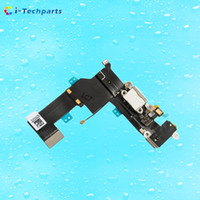 Wholesale Dock Connector Port Iphone Parts - Original For iPhone SE Charging Port and Headphone Jack Flex Cable,Dock USB Connector Data Ribbon Replacement Parts ,Black  White