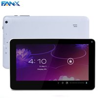 Wholesale cheap touch screen tablets - Wholesale- Free Shipping 9 inch Allwinner A33 Dual Core Tablet PC 512MB 8GB Dual Cameras Android 4.4 OS Cheap wide screen wifi Tablet MID