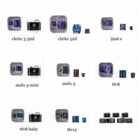 Wholesale mini ijust kit for sale - Group buy Demon Killer Replacement Resin Kit with Resin Tube and Drip Tip for Cleito ml ml MELO MELO III Mini iJust S TFV8 Baby Tank DHL