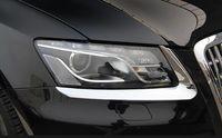 Wholesale chrome headlamp resale online - High quality ABS chrome headlamp decoration trim front lamp trim For Audi Q5