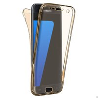 Wholesale note5 luxury case online – custom Luxury Degree Full Body Protection Cases For Samsung Galaxy S5 S6 S7 S8 Note5 Cover Tempered Glass Accessories