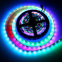DC12V WS2811 Bande LED 5050 SMD RGB LED Ruban 5 M Magic Dream Directionnable Couleur Digital Ledstrip 30/60 leds / m