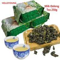 Wholesale Promotion Milk Tea - C-WL015 Promotion 250g Milk Oolong Tea High Quality Tiguanyin Green Tea Taiwan jin xuan Milk Oolong Health Care Milk Tea