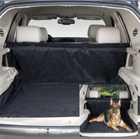 Wholesale Puppy Safety Waterproof mats Hammock Protector Rear Back pet Dog Car mat Seat Cover