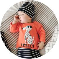 Wholesale T Shirt Boy Dog Fashion - 2017 Baby Boys T-shirt New Autumn Cartoon Dogs Long Sleeve Infant Tee Shirt Spring Fashion Newborn Tops Boy Clothes C1531