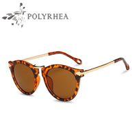 Wholesale Brand Polarized Women Sunglasses - Fashion Oval Polarized Women Sunglasses Summer Vintage Goggles Sun Glasses Luxury Women Brand Designer Sunglasses With Box And Case