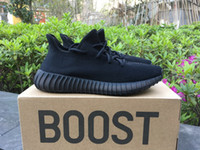 Wholesale Free Shoe Samples - (Free DHL Two Box) Sample 350 Boost V2 Kanye West 350 Boost Shoes Sneakers Men Women Running Shoes Sply V2 Sneakers US12 US13 Sports Boots