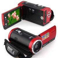 Wholesale Digital Camera 16mp Hd - C6 Camera 720P HD 16MP 16x Zoom 2.7'' TFT LCD Digital Video Camcorder Camera DV DVR Black Red hot worldwide