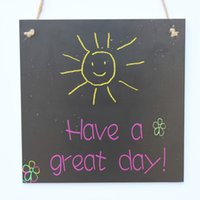 Wholesale d signed - Chalk Board Decoration - Have A Great Day Chalk Sign, Home Chalk Sign, Room Decoration, Chalksign for Child