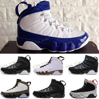 Wholesale Black Man Statue - Retro 9 Space Jam Basketball Shoes Men 9s VIIII Copper Statue Anthracite Baron Charcoal Johnny Kilroy Trainer Athletics Boots J9 Sneakers