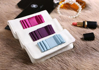 Wholesale Multifunctional Purse - AC824 mini cute sweet solid bowknot woman lady multifunctional day coin purse lipstick lip rouge bag 0.3