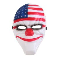 Wholesale Wolf Man Masquerade Mask - The New Theme Jokers Dallas Wolf Hoxton Chains Party Masks Payday 2 Mardi Gras Masquerade Masks
